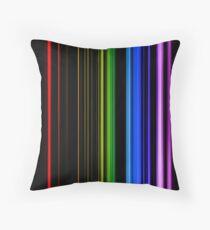 Vertical Rainbow Bars Floor Pillow