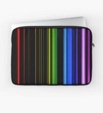 Vertical Rainbow Bars Laptop Sleeve