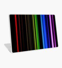 Vertical Rainbow Bars Laptop Skin