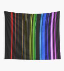 Vertical Rainbow Bars Tapestry