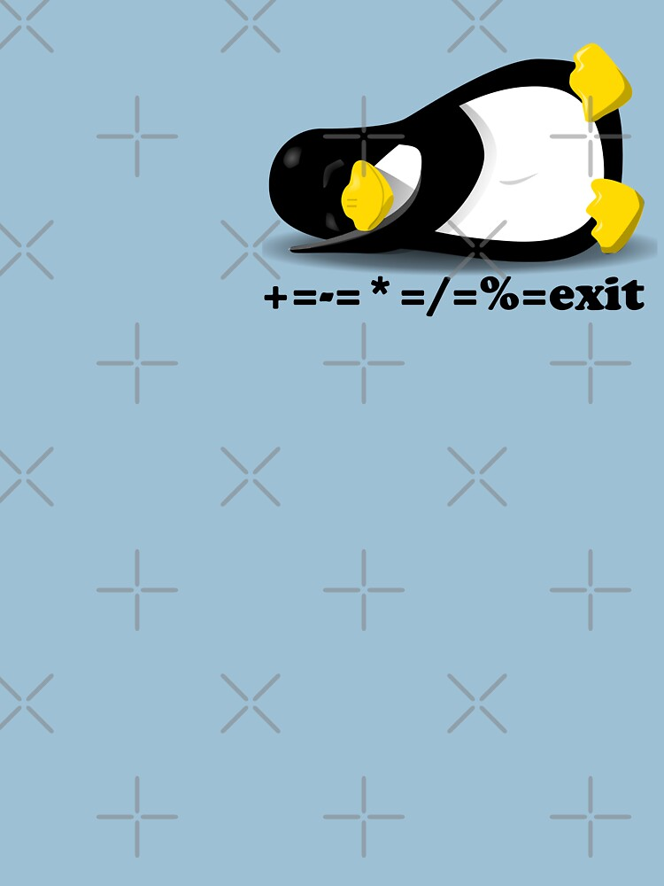 LINUX TUX THE PENGUIN by hottehue