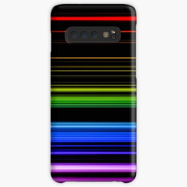 Horizontal Rainbow Bars Samsung Galaxy Snap Case