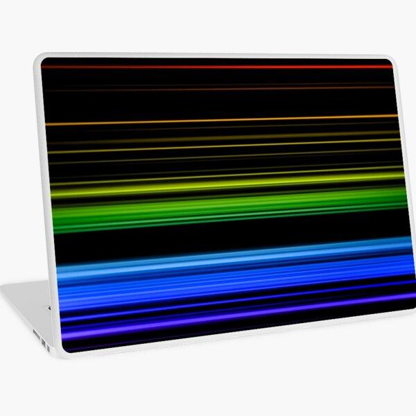 Horizontal Rainbow Bars Laptop Skin