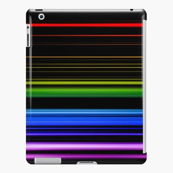 Horizontal Rainbow Bars iPad Snap Case