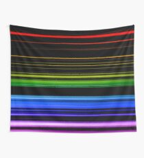 Horizontal Rainbow Bars Tapestry