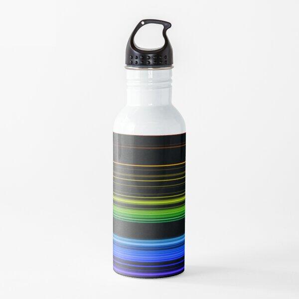 Horizontal Rainbow Bars Water Bottle