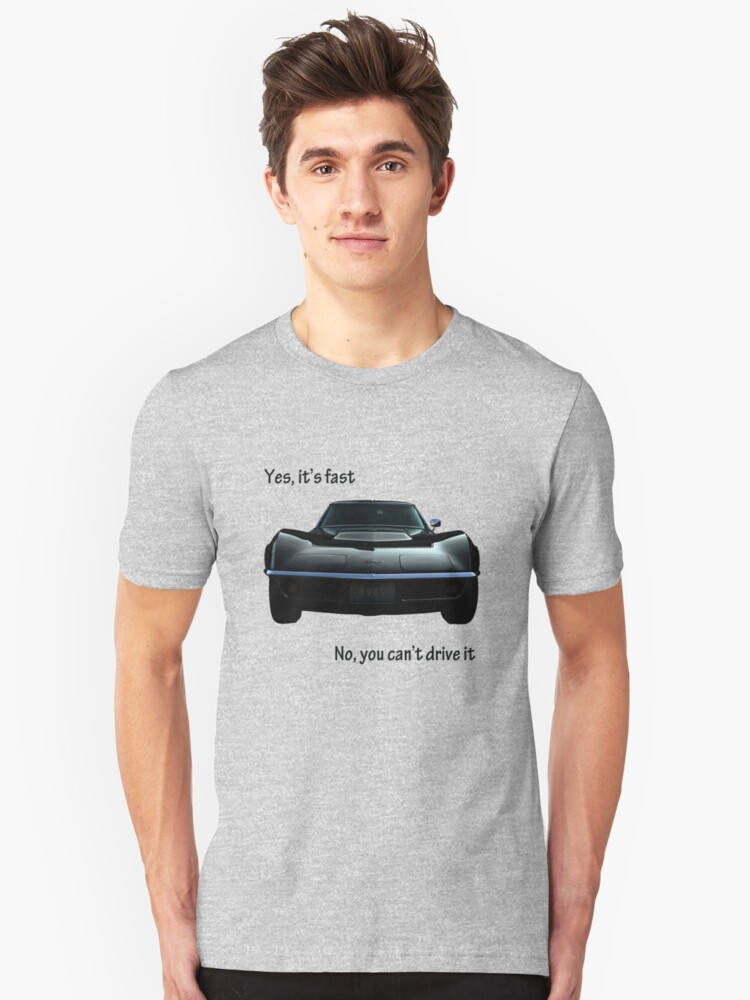 Yes,it's fast Unisex T-Shirt Front