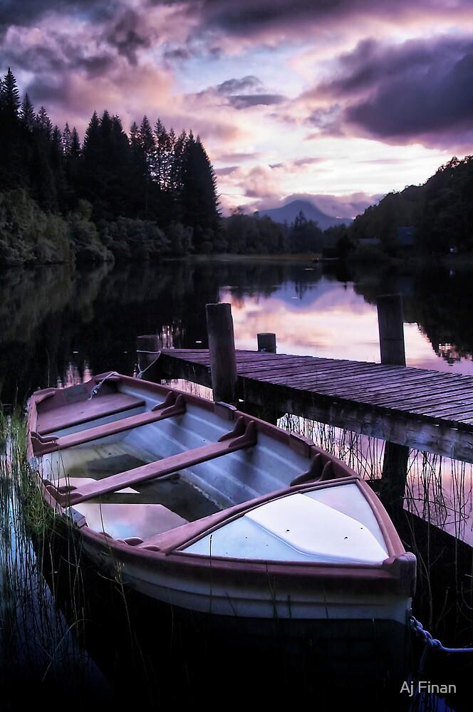 Summer's Evening by Aj Finan