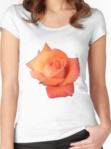Peachy Rose Women's Fitted Scoop T-Shirt