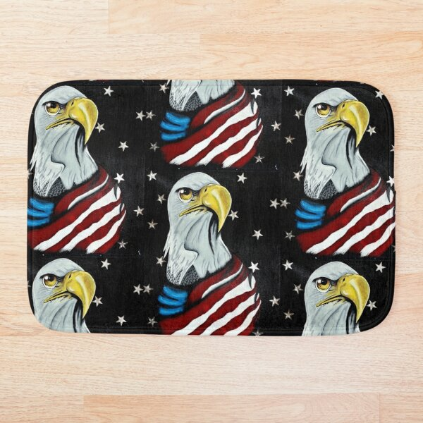 Freedom Rings Bath Mat