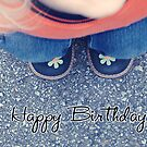lill cutie shoes - Happy Birthday card by 1001cards