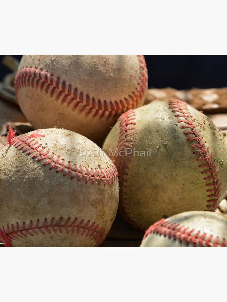 Baseballs and Glove by LeahMcPhail
