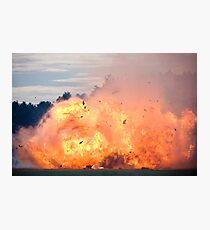 Big Boom Photographic Print