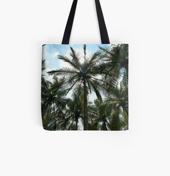 It's a Palm Tree Kind of Day All Over Print Tote Bag