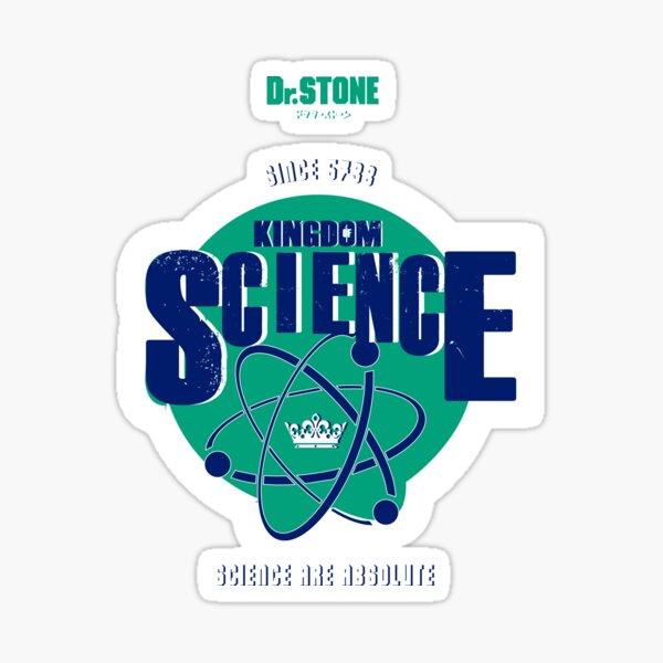 DR STONE: TEAM KINGDOM OF SCIENCE  Pegatina