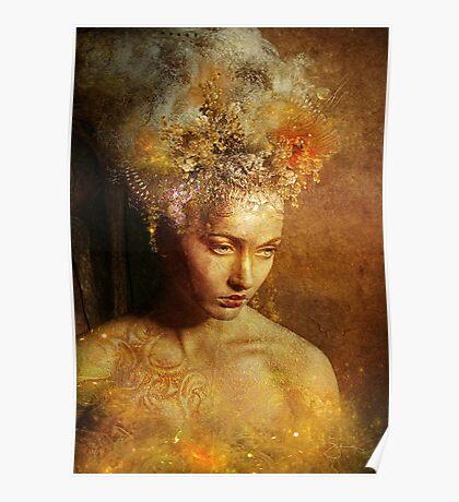 High Priestess Earth Poster