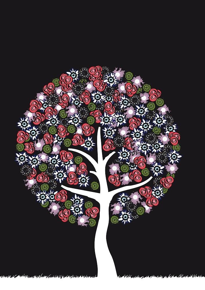 Flowertree by kin1sora