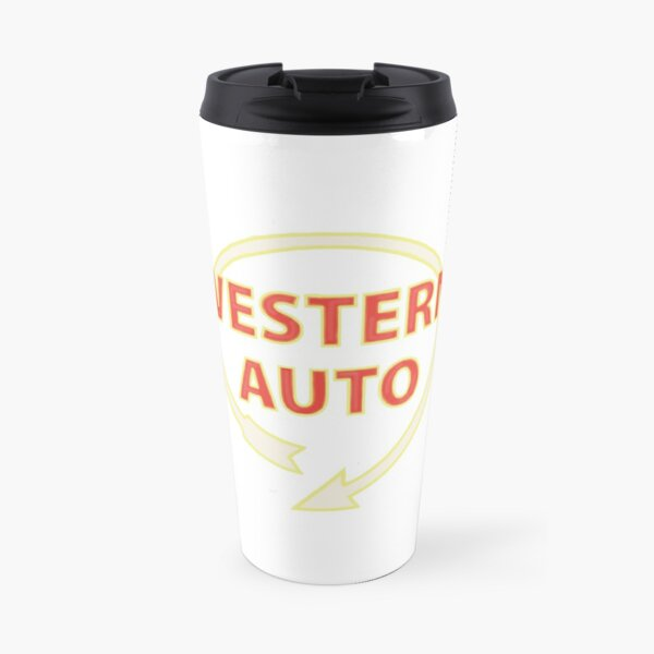 western auto sign -kc Travel Mug