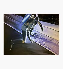 Rocketeer Scales A Zeppelin Photographic Print