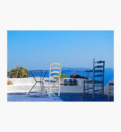 Oia Village 2, Santorini, Greece Photographic Print