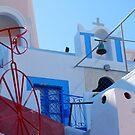 Oia Village Again, Santorini, Greece by inglesina