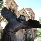 Dancing St Francis by Christine Ford