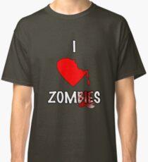 I Heart Zombies Classic T-Shirt