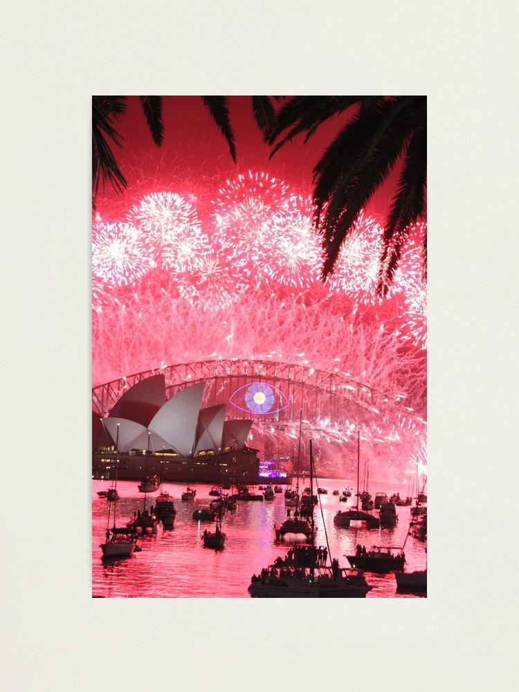 Alternate view of Shine Bright Sydney! Photographic Print