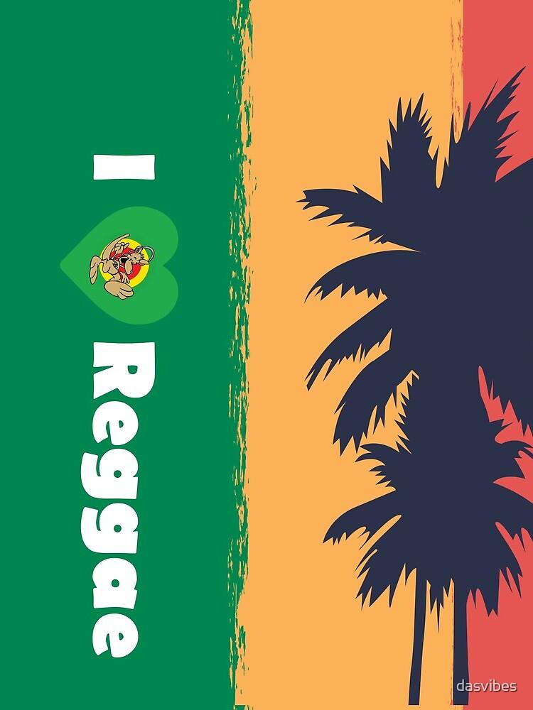 I love Reggae ! by dasvibes