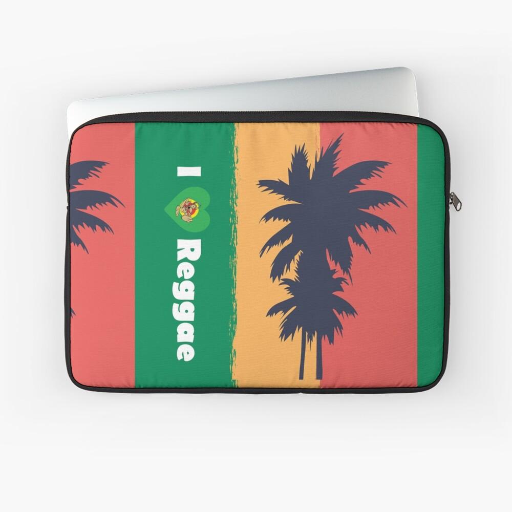 I love Reggae ! Laptop Sleeve