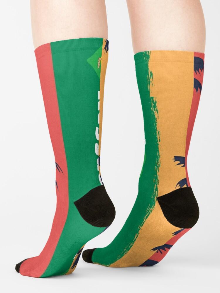 Alternate view of I love Reggae ! Socks