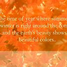Fall Greeting card by Kgphotographics