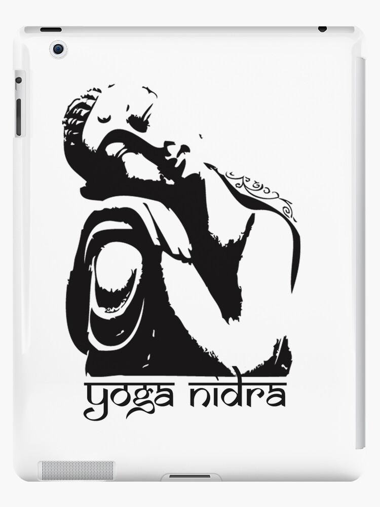 Buddha Graphic Yoga Nidra Sleep Ipad Case Skin By Panie Redbubble