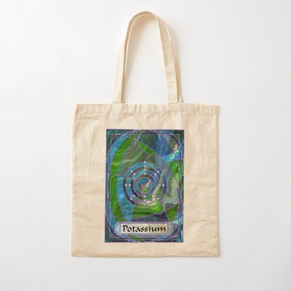 Element 19: Potassium Cotton Tote Bag