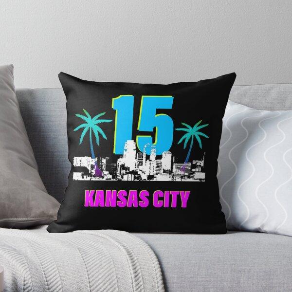 Kansas City to Miami Throw Pillow