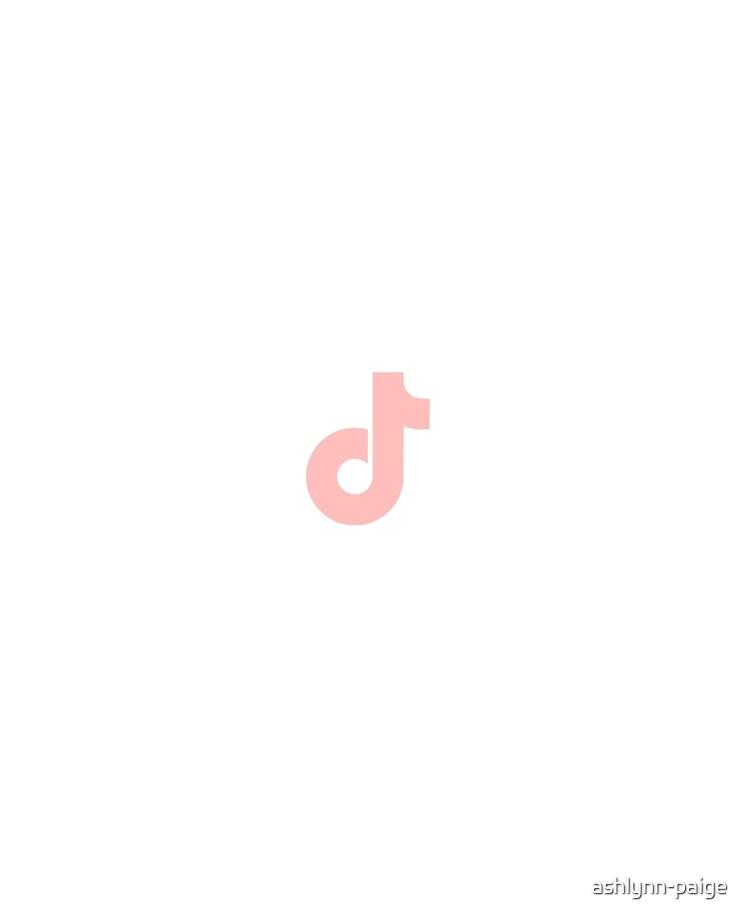 Salmon Light Pink Tiktok Logo Ipad Case Skin By Ashlynn Paige Redbubble