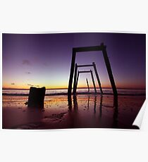 Cat Bay Sunset Poster