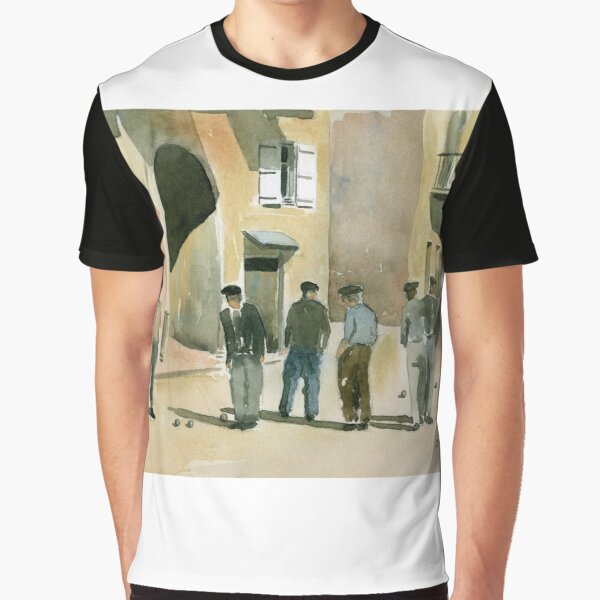 The Game of Pétanque Graphic T-Shirt