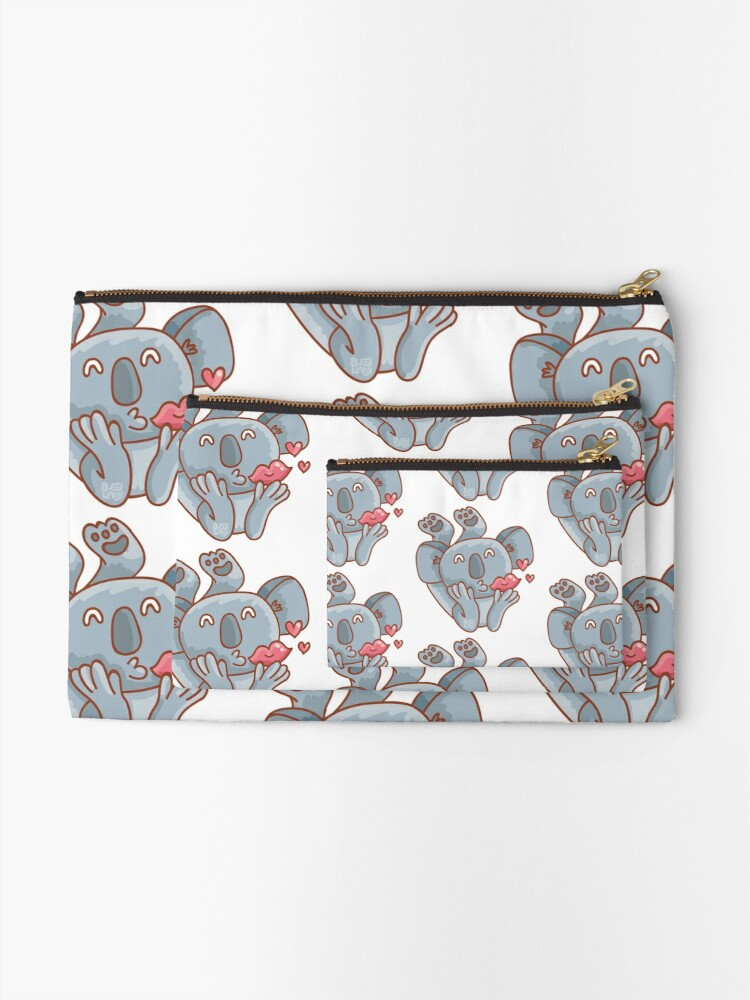 Alternate view of From Koala with Love Zipper Pouch