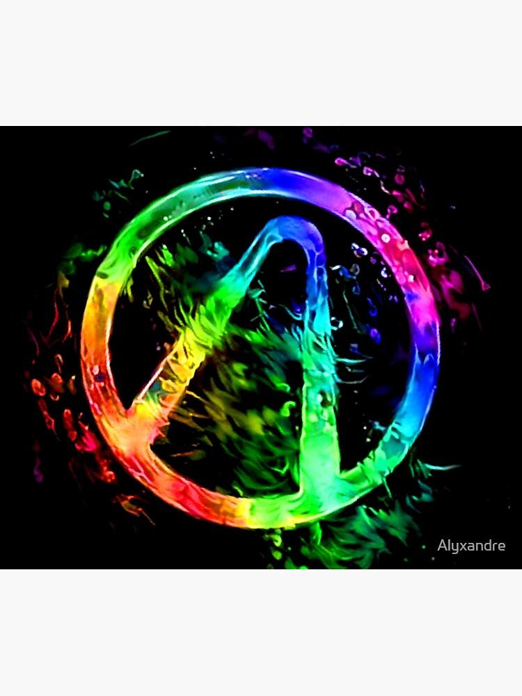 Rainbow Splash Vault Hunter Symbol by Alyxandre