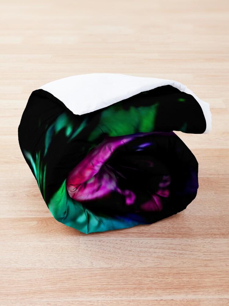 Alternate view of Rainbow Splash Vault Hunter Symbol Comforter