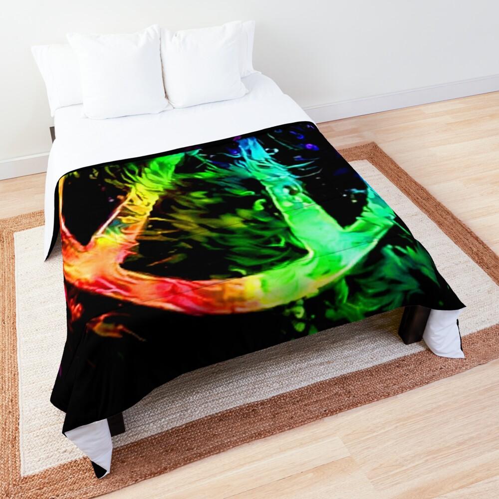 Rainbow Splash Vault Hunter Symbol Comforter