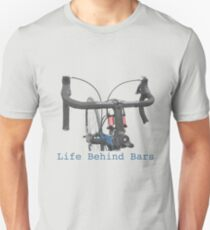 Cycling: a life behind bars Unisex T-Shirt