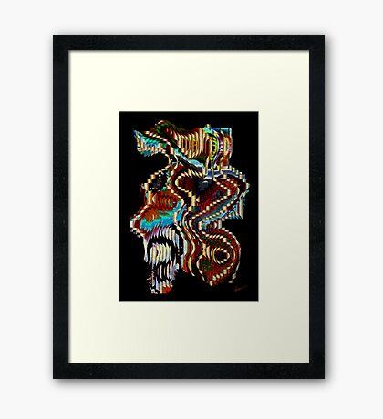 Movement Framed Print