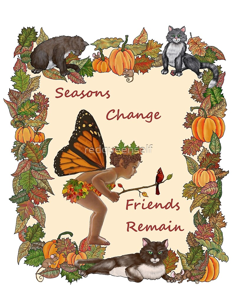 Seasons Change by redqueenself