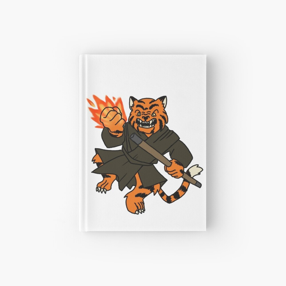 Tabaxi Monk Spiral Notebook By Grapeglasses Redbubble This is one of my favorite d&d commissions i've worked on. redbubble