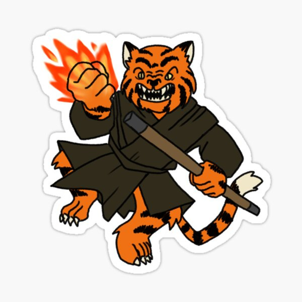 Tabaxi Monk Sticker By Grapeglasses Redbubble Check out our tabaxi monk selection for the very best in unique or custom, handmade pieces from our shops. redbubble