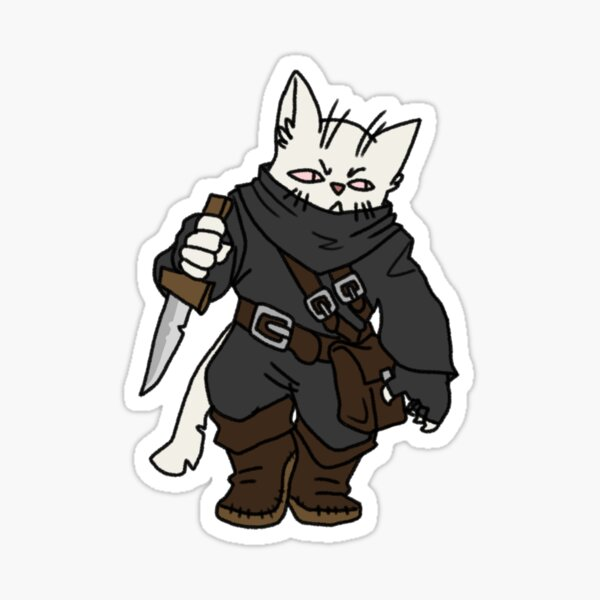 Tabaxi Gifts Merchandise Redbubble Fighter, monk, ranger, rogue, warlock * tabaxi. redbubble