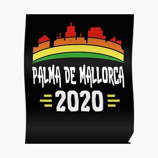 Palma Spain Coordinates World City Travel Quote Wall Art Print