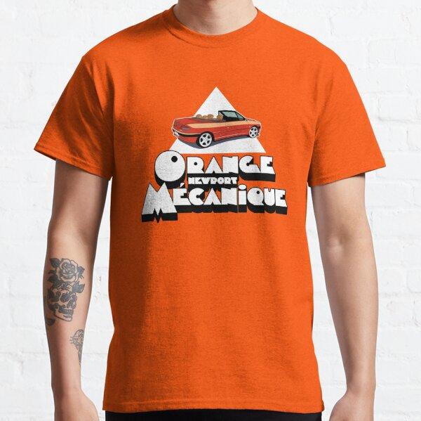 Orange *Newport* Mécanique - Marron (Fond Orange) T-shirt classique